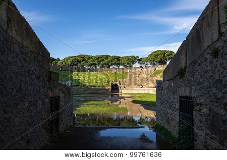 Amphitheater (pompeii,italy)