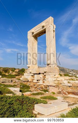 The Ancient Marble Gate