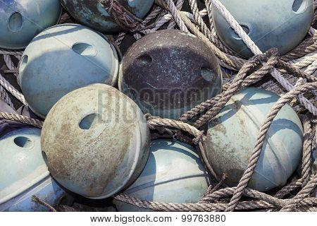 Closeup Buoy ball
