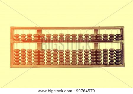 Vintage Style - Wooden Abacus Beads