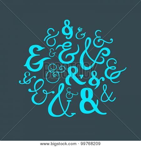 Vector Logograms Collection