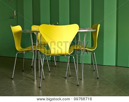 Modern Interior Design Chairs And Table