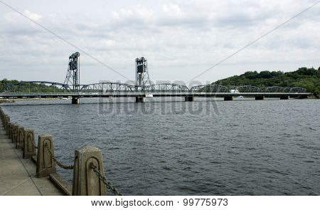 Vintage Lift Bridge