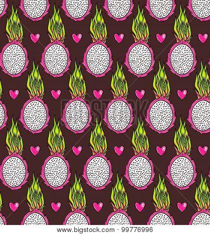 Dragon fruit pattern
