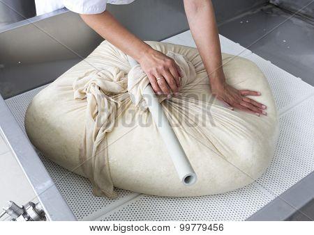 Cheese Production Buffalo Gauze Lint