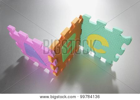 Number Puzzle Mat Pieces