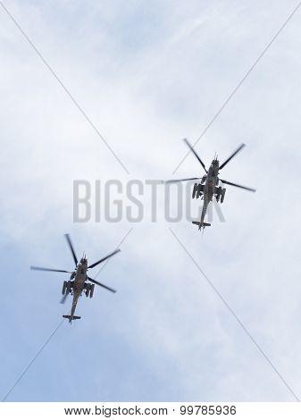 Mi-35 At The Victory Parade