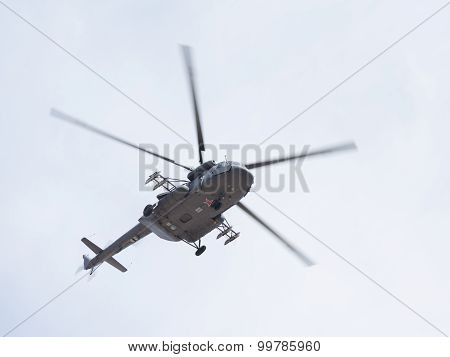 The Mi-8 At The Victory Parade