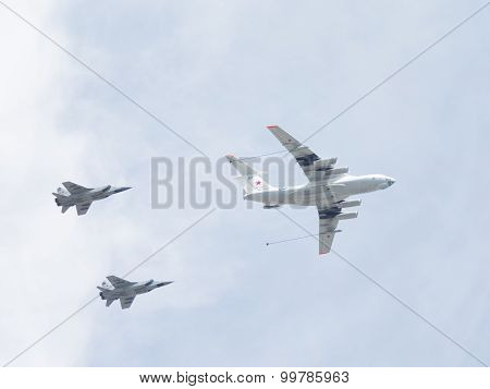 The Span Of The Aircraft At The Victory Parade