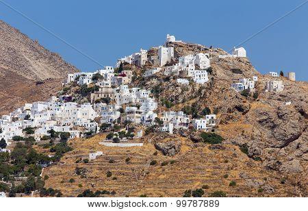 View of Chora village, Serifos island, Greece
