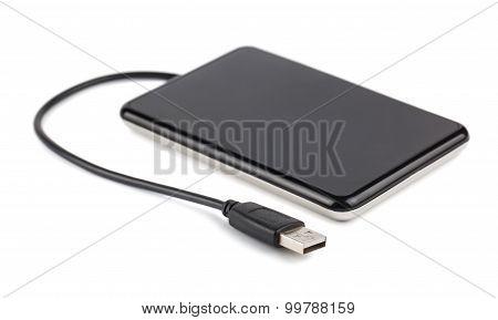 Black External Hard Disk