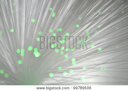 Abstract fiber optics light bokeh background