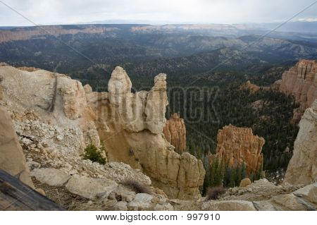 Deepness Of Bryce Canyon