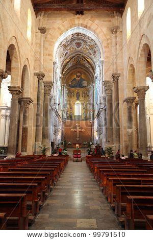 Cathedral-basilica Of Cefalu, Sicily