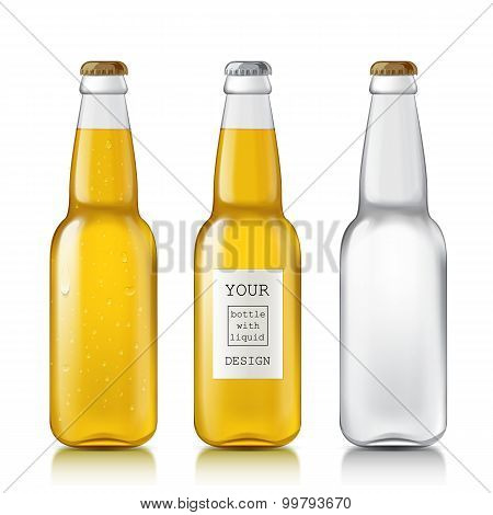 Set realistic bottles.