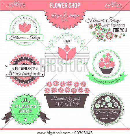 Flower Shop Logos