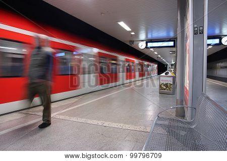 Dusseldorf Train Station