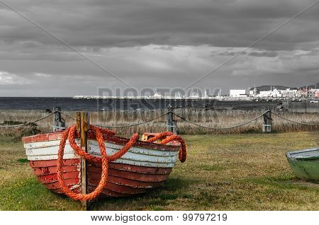 Abandoned Fishing Boat