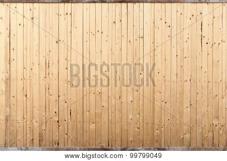Wooden Wall Background Texture With Knots And Nails