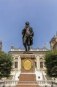 Постер, плакат: Statue Of Johann Wolfgang Goethe Leipzig