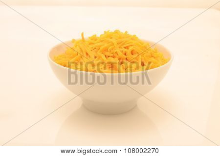 grated prepared cheese
