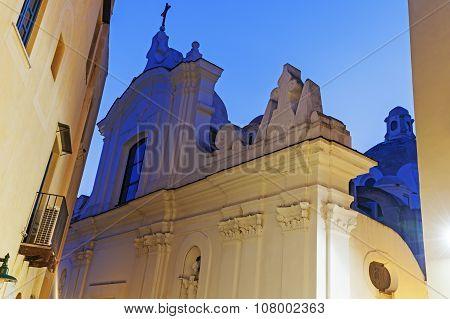 Church Of St. Stephen In Capri