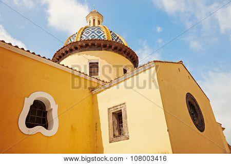 San Gennaro Church In Praiano