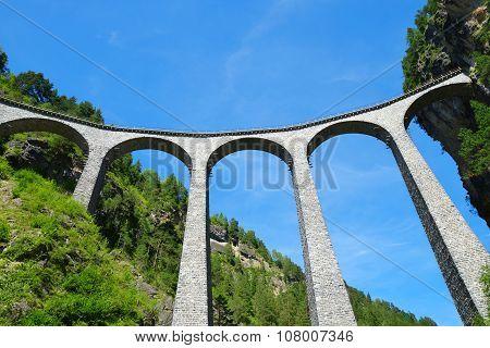 Landwasser viaduct in Filisur