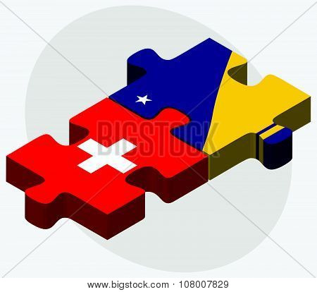 United Arab Emirates And Tokelau Flags