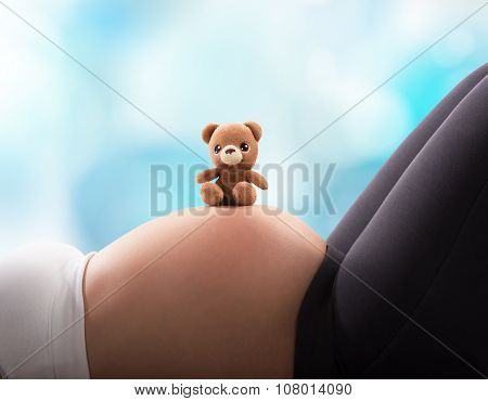 Teddy bear for the baby