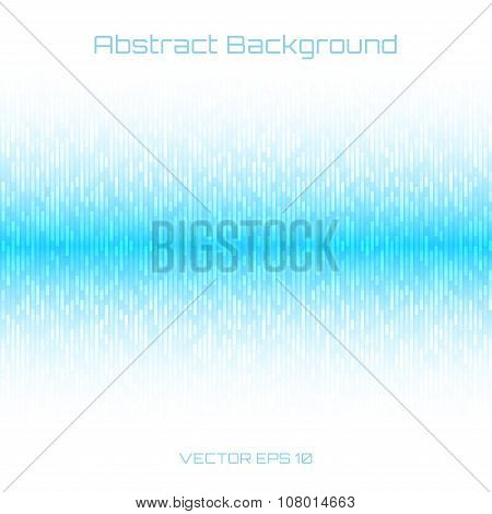 Abstract Light Blue Technology Lines Background.