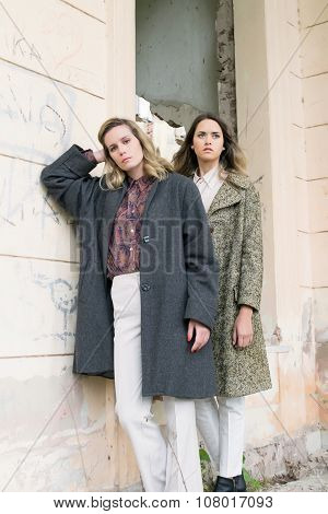 Fashion Models Posing