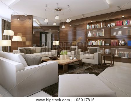 Living Room Contemporary Style