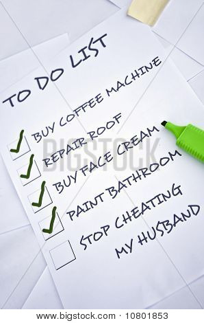 Stop Cheating My Husband