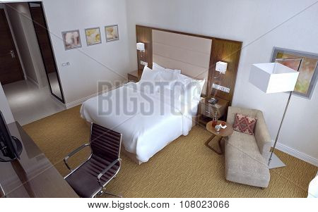 Guest Room Contemporary Style