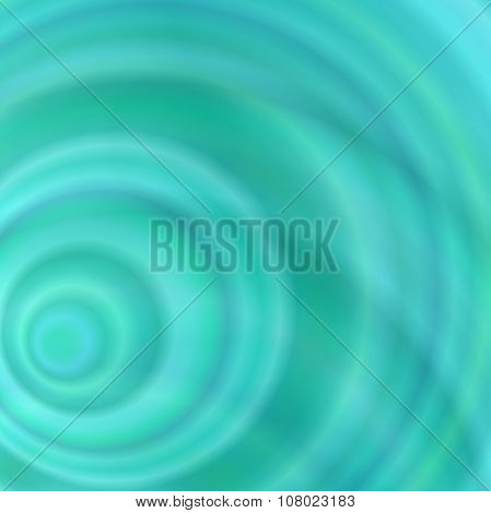 Light blue abstract concentric circle background