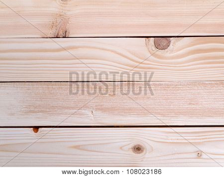 Wooden Planks With Knots