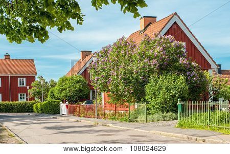 Spring in Norrkoping, Sweden