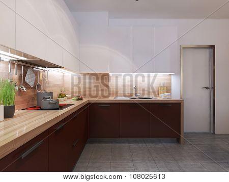 Constructivism Style Kitchen