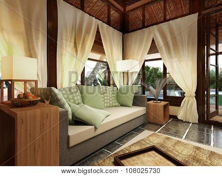 Romantic Bungalow In Caribbean Island