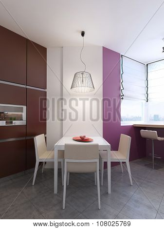 Contemporary Style Dining