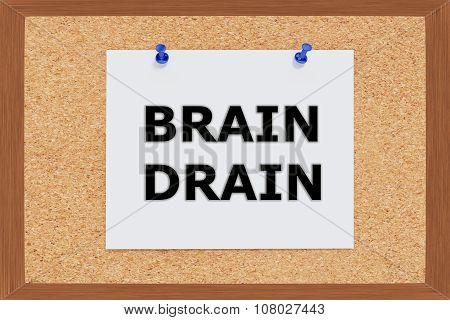Brain Drain Concept