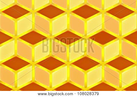 Illustration Background Abstract Bright Fractal Geometric Patter