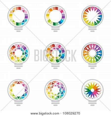 Logo all idea Rainbow