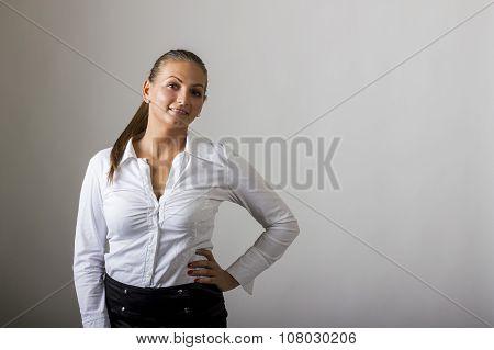 Beautiful Girl Standing