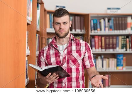 A Portrait Of A College Student At Campus