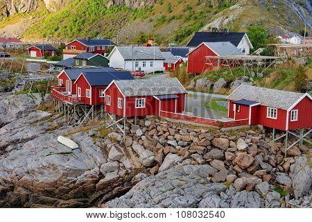 Reine fishing village in Lofoten Islands, Norway