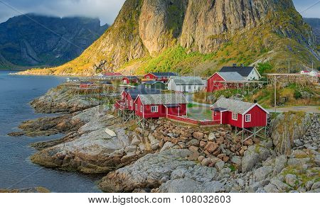 Reine fishing village in Lofoten Islands, Norway