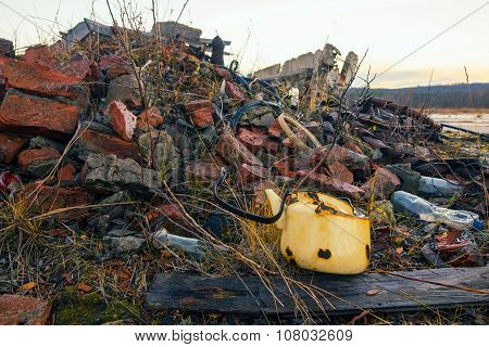 The Wreckage Of Buildings