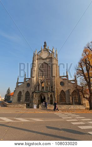Cathedral Of Assumption Of Our Lady In Sedlec, Czech Republic